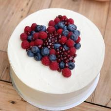 Торт для аллергиков с ягодами