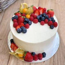 Торт без глютена с физалисом