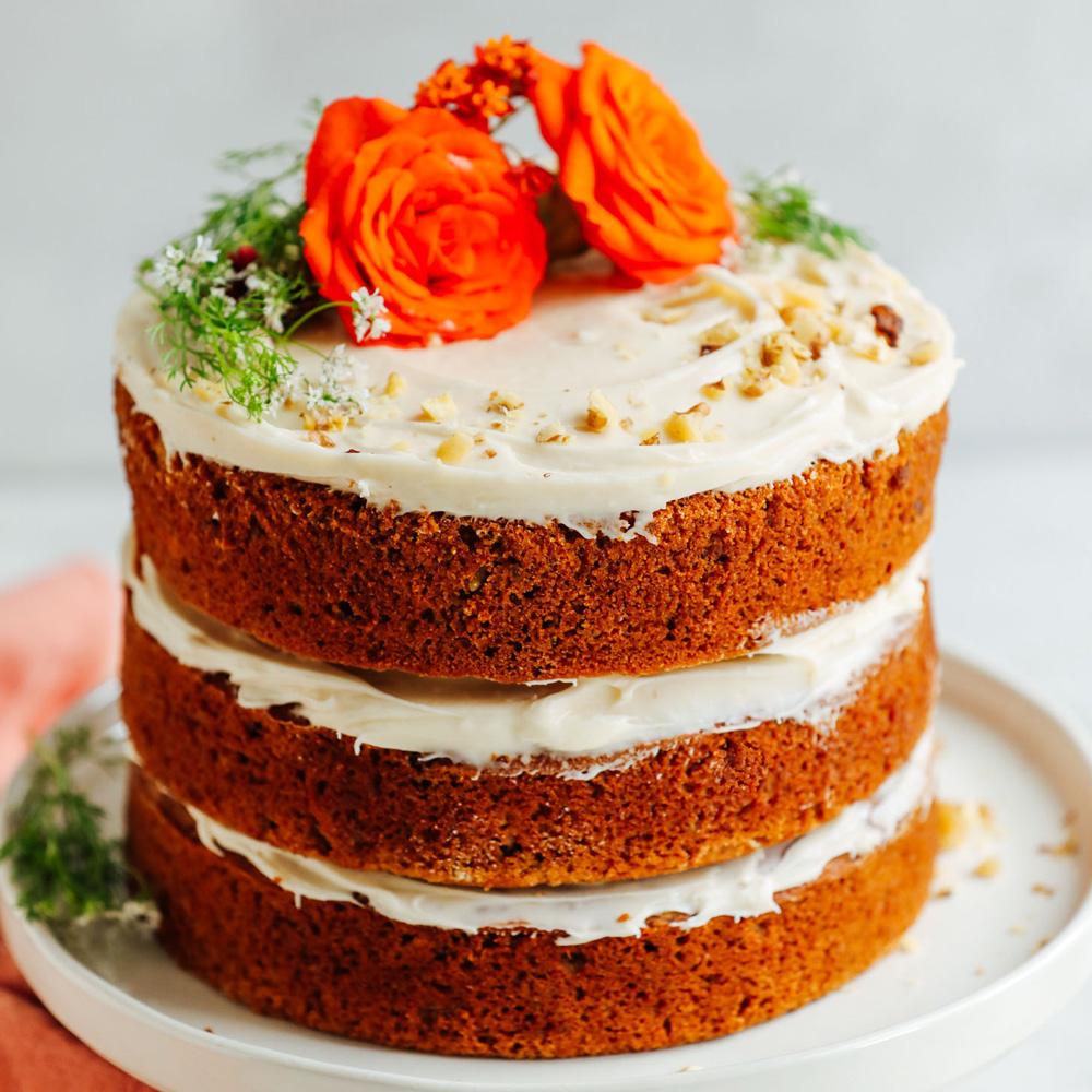 Морковный торт без глютена