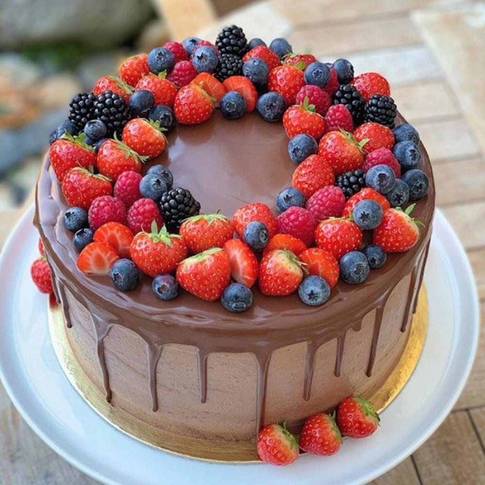 Муссовый торт для аллергика