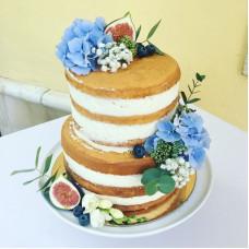 Торт без глютена с открытыми коржами