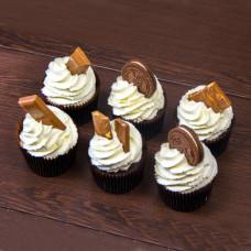 Капкейки с печеньем и шоколадом