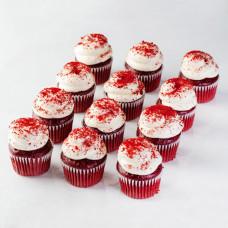 Пирожные красный бархат