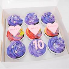 Капкейки на день рождения девочке 10 лет