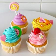 Капкейки на день рождения девочке