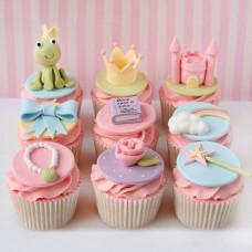 Детские капкейки на день рождения девочке