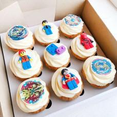 Пирожные в стиле игрушки Beyblade