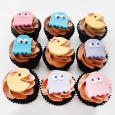 Пирожные по игре Pac-Man