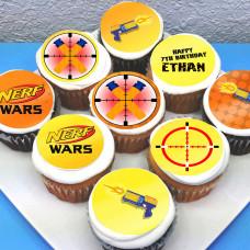 Пирожные по игре Nerf