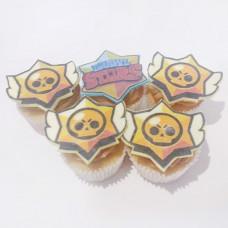 Капкейки Brawl Stars на день рождения
