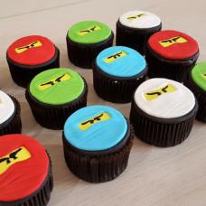 Пирожные Lego Ninjago