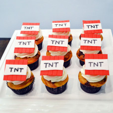 Набор пирожных Майнкрафт