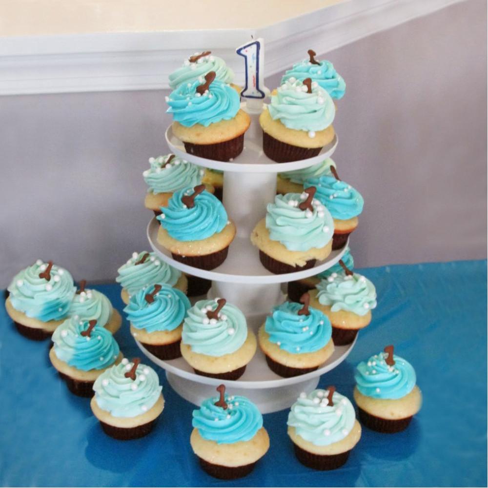 Торт из капкейков на день рождения мальчику