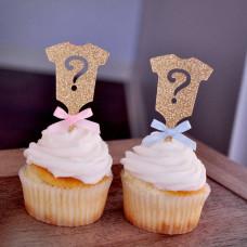 Капкейки «Будет девочка или мальчик?»