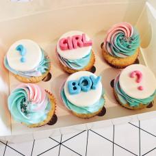 Набор пирожных 6 штук на определение пола