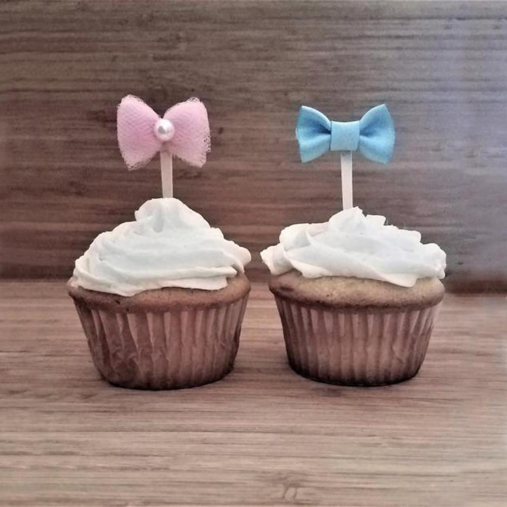 Пирожные на гендерную вечеринку