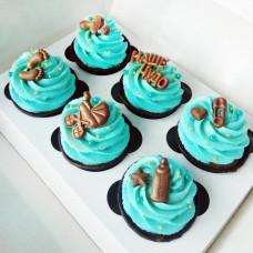 6 капкейков на рождение ребенка