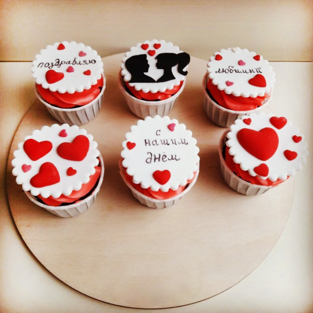 Как сделать кексы с пожеланиями