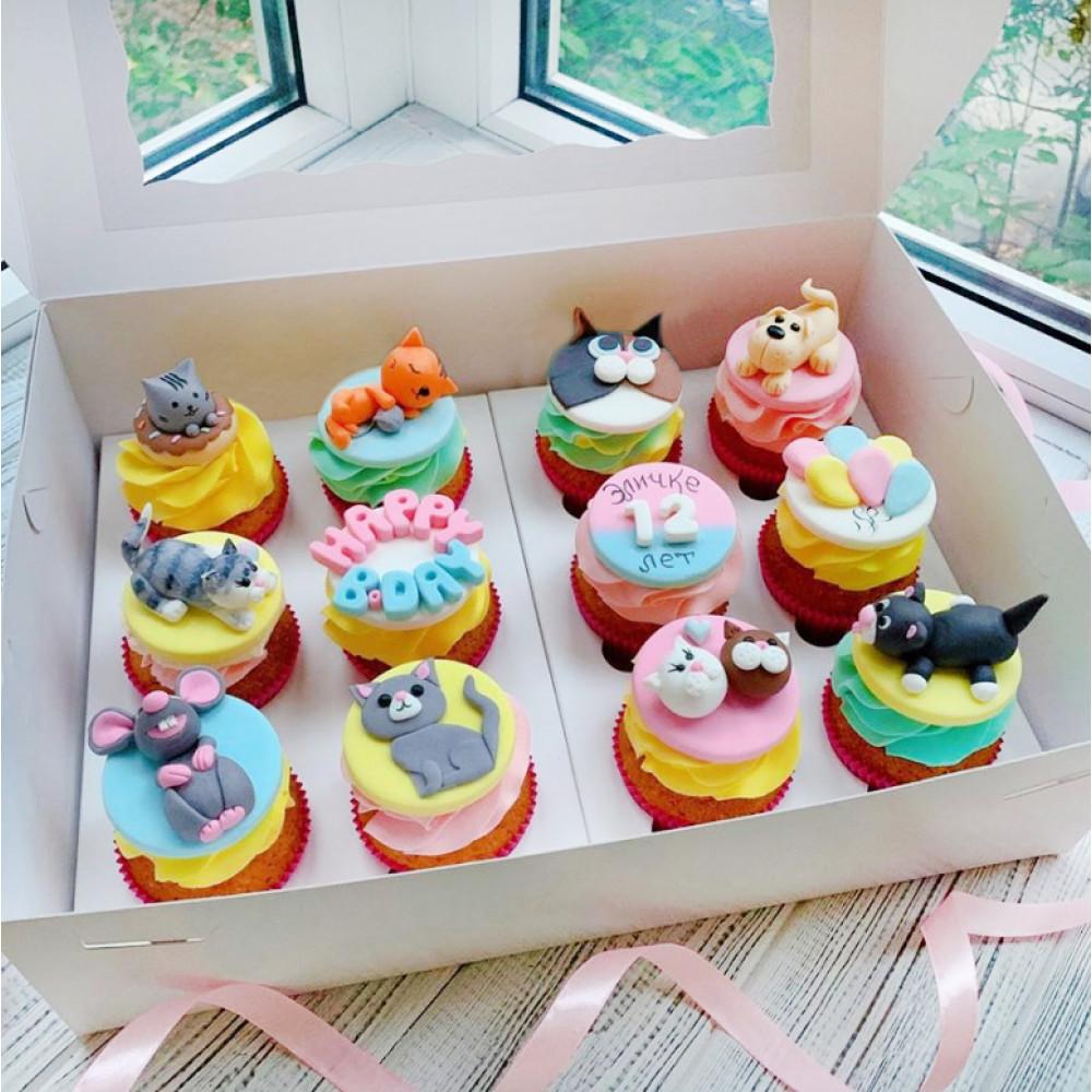 Капкейки для детей на день рождения