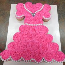 Торт из капкейков на день рождения