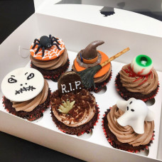 Капкейки на тему Хэллоуин
