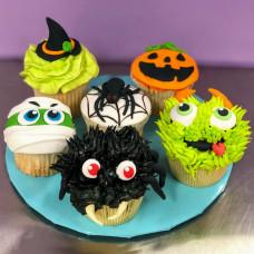 Капкейки с тематикой Хэллоуин