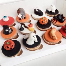 Страшные кексы на Хеллоуин