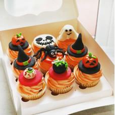 Страшные капкейки на Хэллоуин