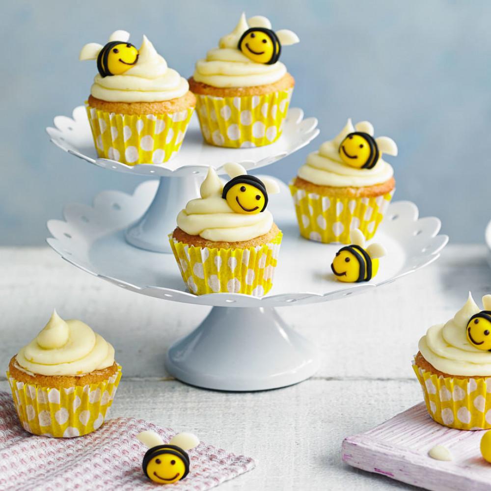Капкейки пчелки