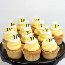 Капкейки c пчелками