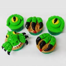 Капкейки динозавры