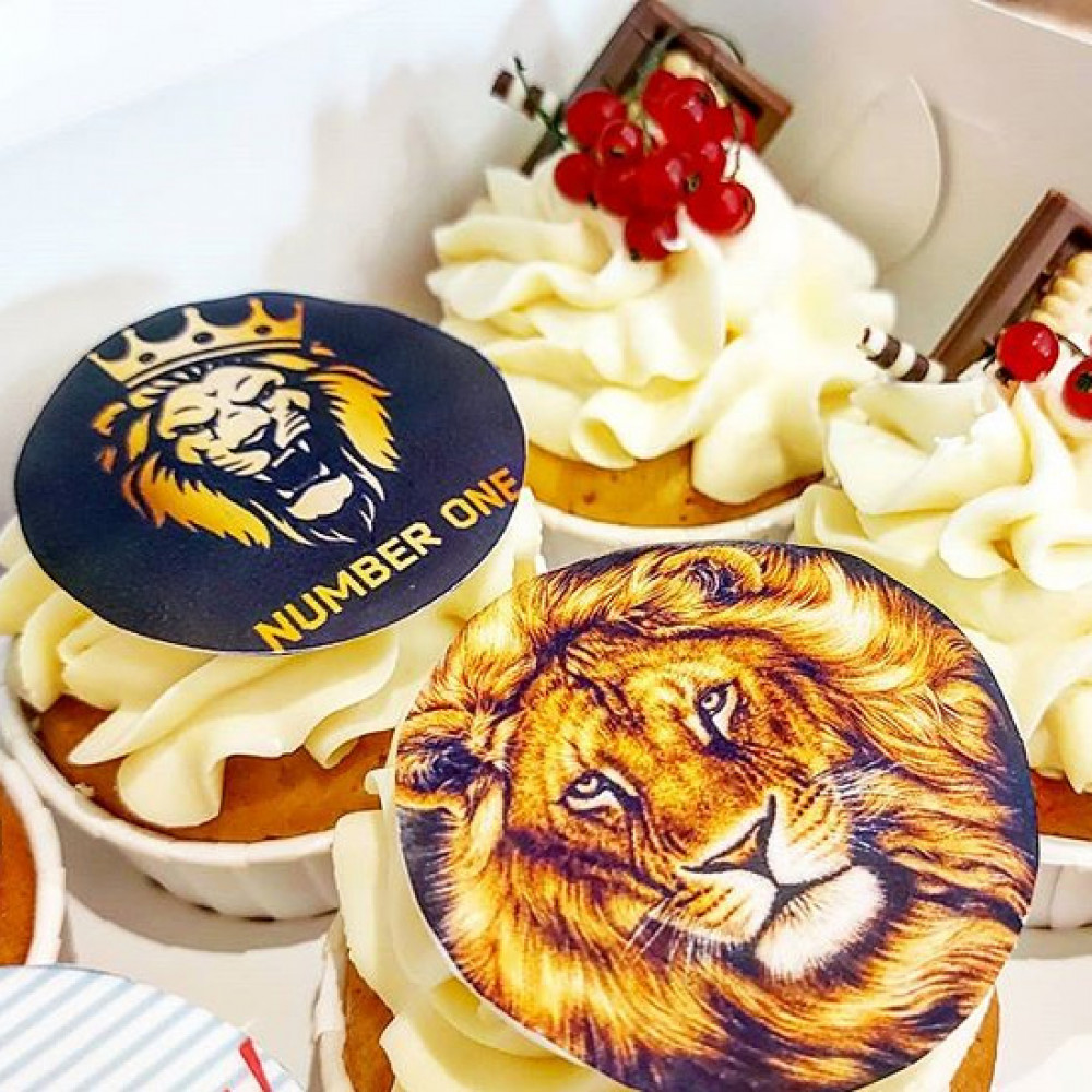 Капкейки Львы