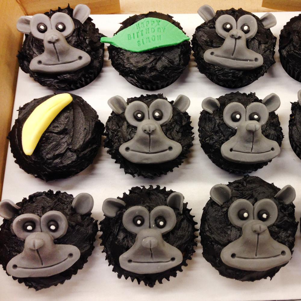 Капкейки гориллы
