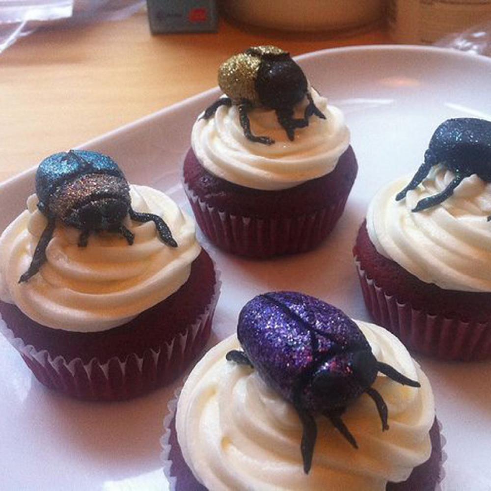 Капкейки жуки