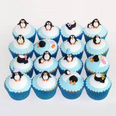 Капкейки пингвины