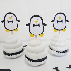 Капкейки с пингвинчиками