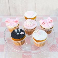 Капкейки на свадьбу вместо торта