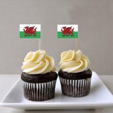 Капкейки Флаг Уэльса
