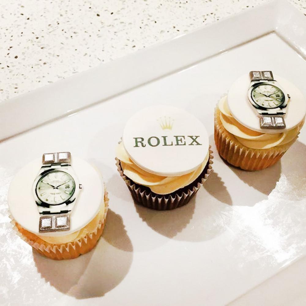 Капкейки Rolex