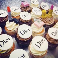 Капкейки Dior