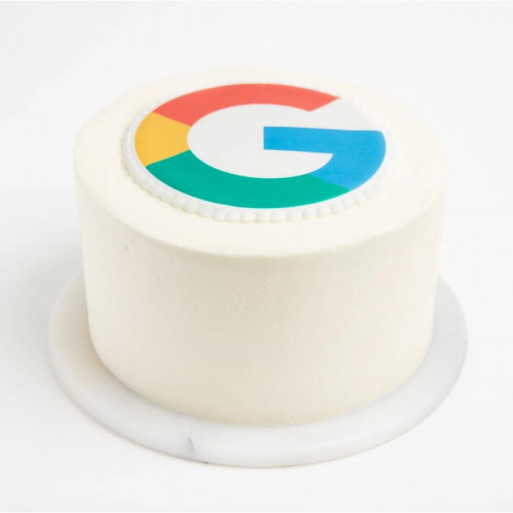 Торт на корпоратив с логотипом