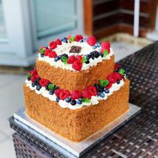 Торт корпоративный прямоугольный