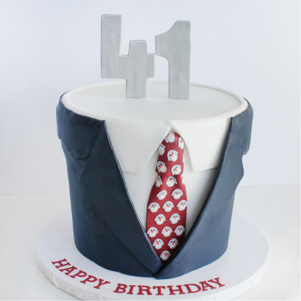 Торт для шефа на день рождения