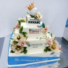 Корпоративный торт на Бал стоматологов России