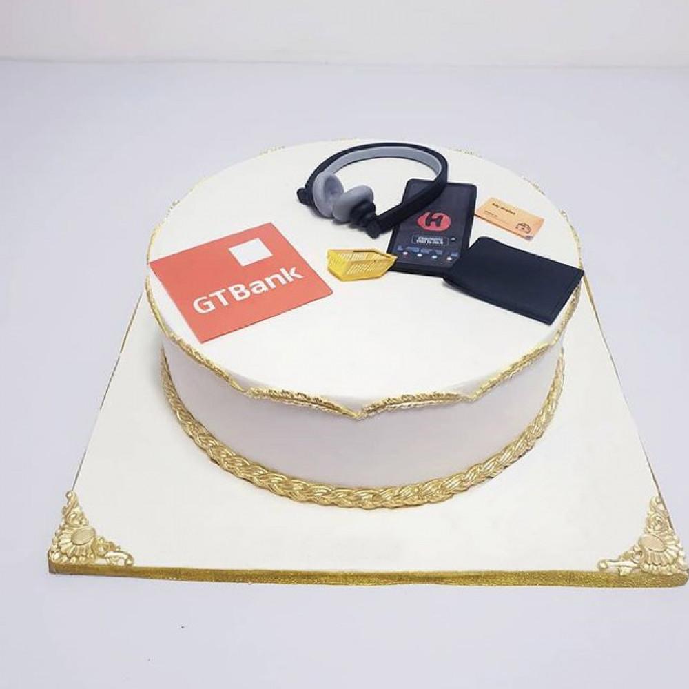 Корпоративный торт на Новый год