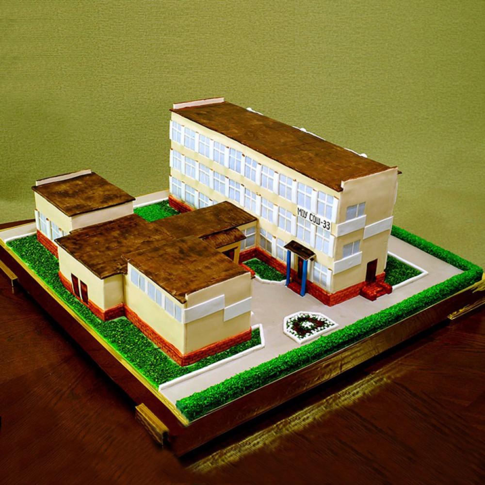 Торт директору школы на день рождения