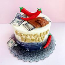 Прикольный торт начальнику