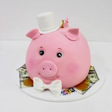 Торт на корпоратив с logo