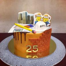 Торт боссу на день рождения