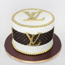 Торт со съедобным логотипом